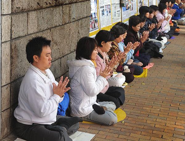 Медитация - способ отдохнуть от суеты Гонконга / Фото из Гонконга