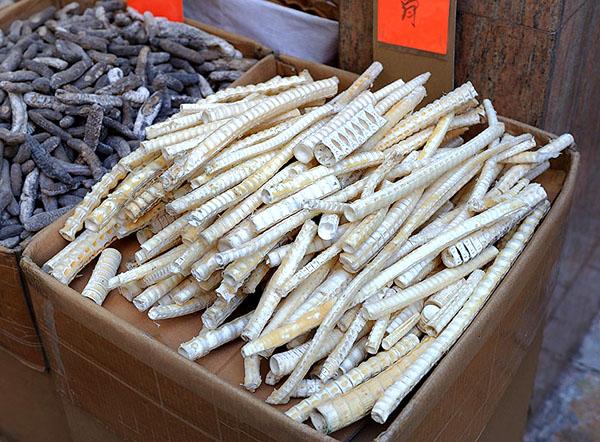 Рыбьи кости - местный деликатес, Гонконг / Фото из Гонконга