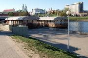 Вид на Верхний город со стороны Троицкого предместья / Белоруссия