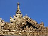 Архитектурные детали ступы Суле / Мьянма