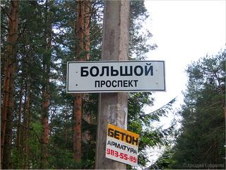 Большой проспект / Россия
