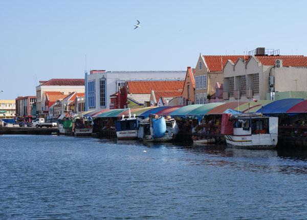 Рыбный рынок на Кюрасао / Фото с Кюрасао