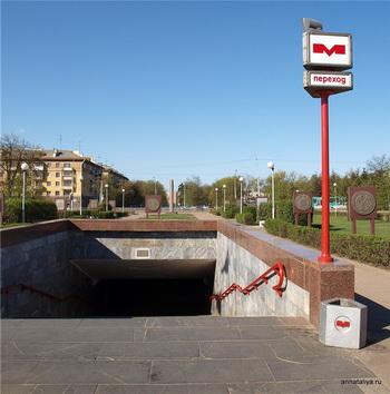 Вход в метро / Белоруссия