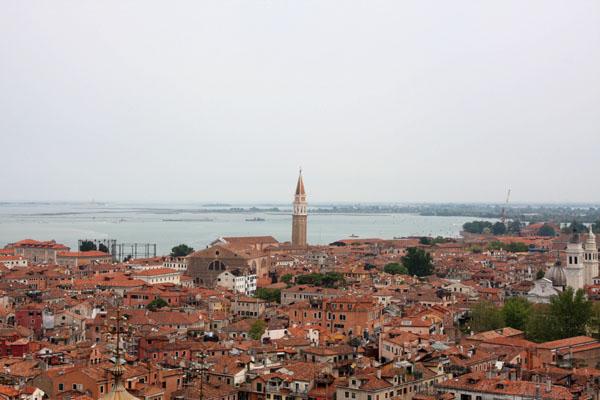 Вид с колокольни собора Сан-Марко, Венеция / Фото из Италии