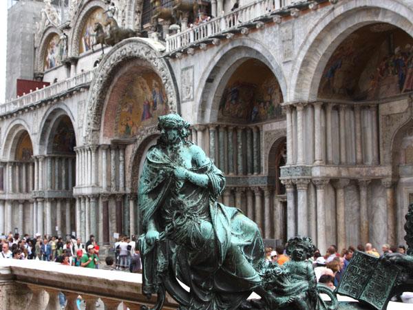 На площади Сан-Марко, Венеция / Фото из Италии
