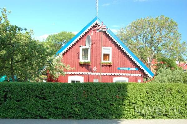 Старый рыбацкий дом в Ниде  / Фото из Литвы