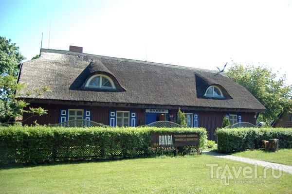 В Ниде многие дома покрыты соломенными крышами  / Фото из Литвы