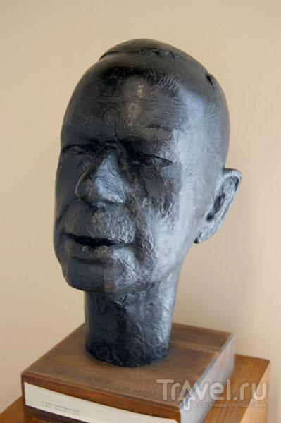 Скульптурный портрет Томаса Манна  / Фото из Литвы