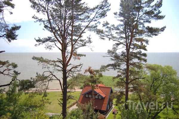 Вид на море от музея Томаса Манна  / Фото из Литвы