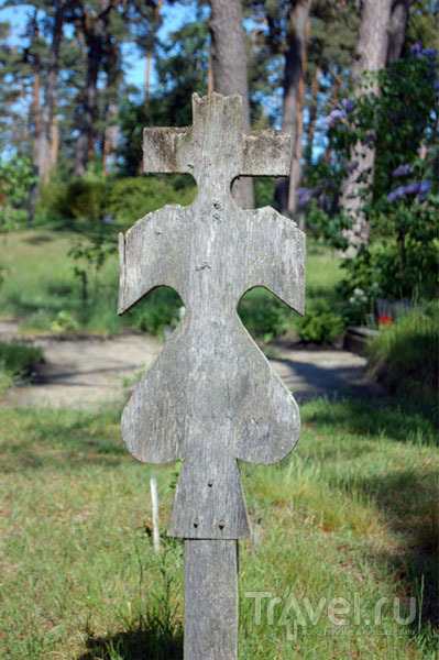 Старинное надгробие, Нида / Фото из Литвы