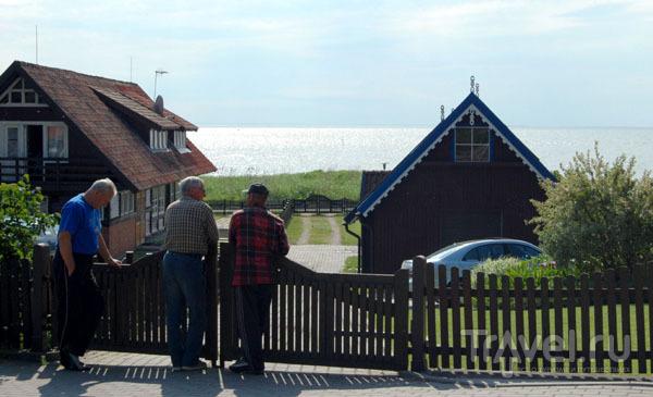 Жители Ниды  / Фото из Литвы