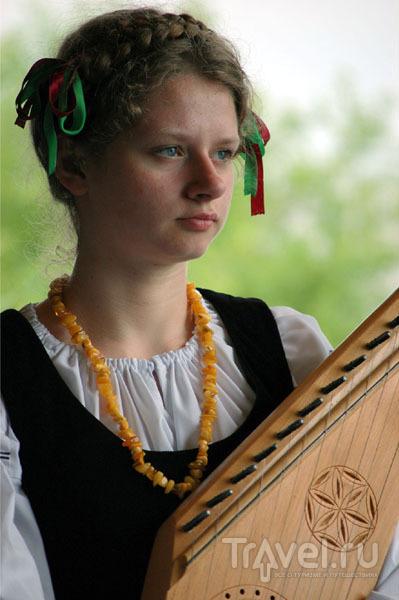 "Участница ансамбля ""Гедруже"" / Фото из Литвы"