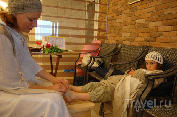 """Массаж ног в отеле """"Королева Луиза""""  / Фото из Литвы"""
