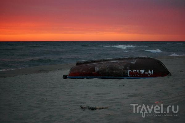 Закат над Балтийским морем  / Фото из Литвы