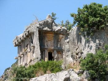 Ликийские гробницы / Турция