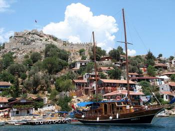 Отельчики над водой / Турция