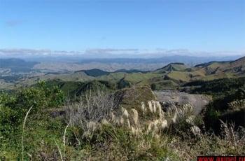 Фотография с видовой точки / Новая Зеландия