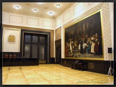 Главный зал ратуши  / Чехия