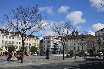 Площадь Rossio / Португалия