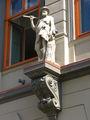 На фасаде / Латвия