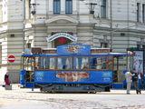 Туристический трамвай / Латвия