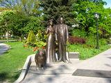 Памятник одному из мэров Риги / Латвия