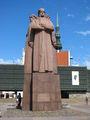 Памятник латышским стрелкам / Латвия