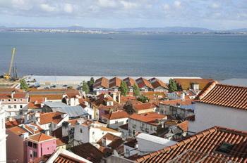 Вид на Тежу / Португалия