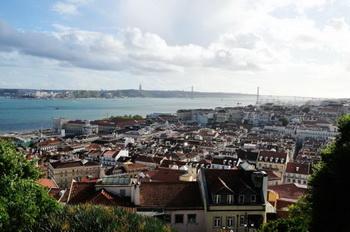 Вид из крепости / Португалия