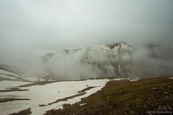 Облачность, дождь и снег / Россия