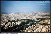 Вид с 3 этажа Эйфелевой башни / Франция