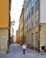 Древние улочки / Швеция