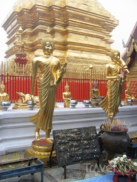 Реликварий ступы Ват-Пхратхат-Дой-Сутеп / Фото из Таиланда
