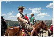 Очень весело верхом на лошадке / Эфиопия