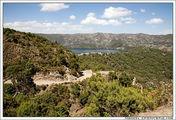 Внизу озеро, к которому нам предстояло спуститься / Эфиопия