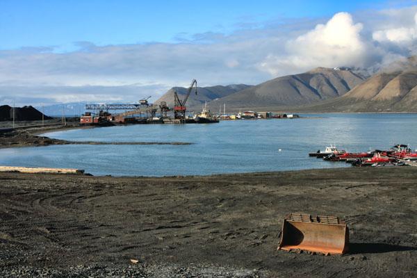 Угольный порт, Лонгир / Фото со Шпицбергена