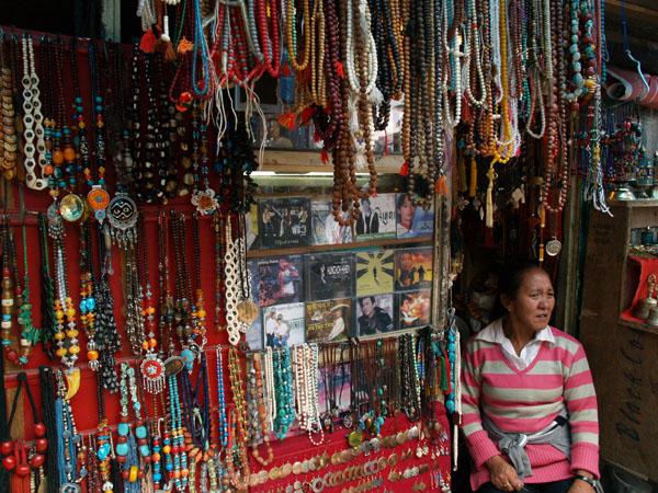 Сувенирная лавка в Макледгандже / Фото из Индии