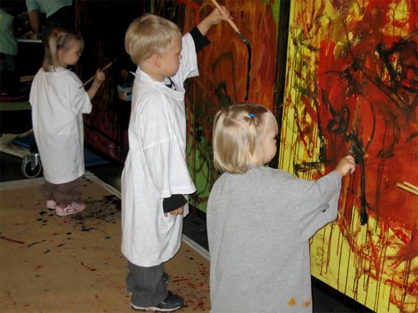 Юные посетители вносят лепту в экспозицию музея Heureka / Фото из Финляндии