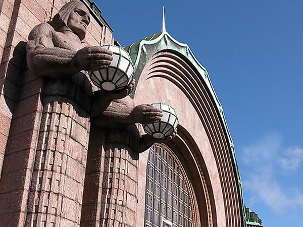 Железнодорожный вокзал Хельсинки тоже построен в югендстиле / Фото из Финляндии