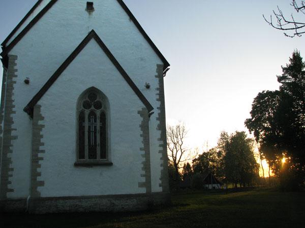 Церковь Святой Катарины на острове Муху (XIII век) / Фото из Эстонии