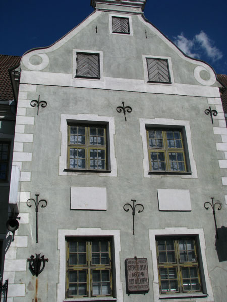 Дом 1674 года в Пярну / Фото из Эстонии
