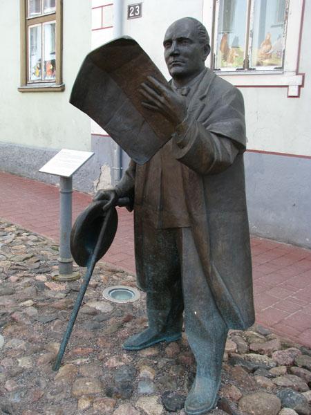 Памятник Йоханну Яннсену, Пярну / Фото из Эстонии