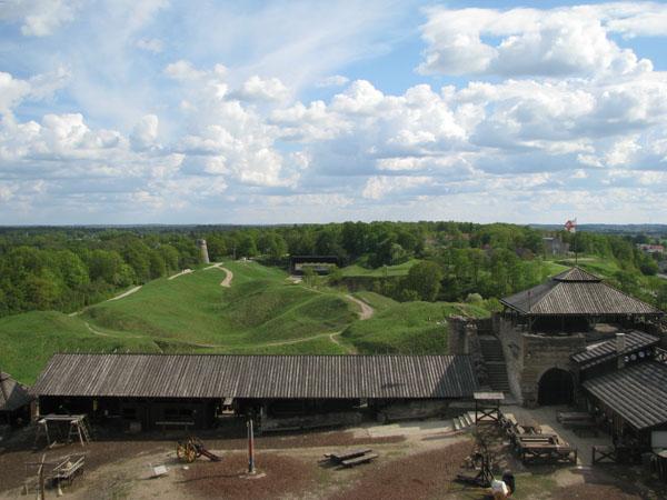 Живописный вид из замка Раквере / Фото из Эстонии