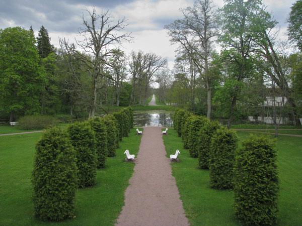 Парк в мызе Сагади / Фото из Эстонии
