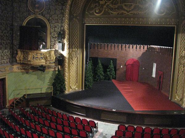 Зал в Русском театре Эстонии, Таллин / Фото из Эстонии
