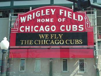 Домашнее поле бейсбольного клуба Chicago Cubs / США