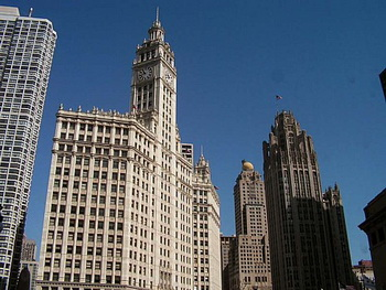 The grand tour chicago северная часть города