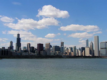 Chicago skyline / США