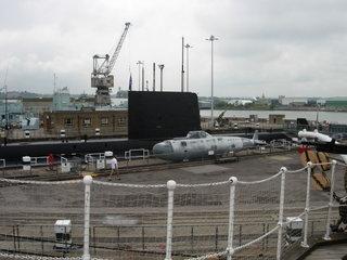 Макет советской подводной лодки / Великобритания