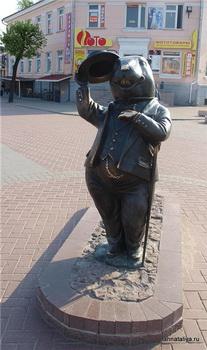 В шляпе / Белоруссия